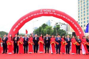 Hà Nội: Thông xe cầu vượt tại nút giao An Dương – đường Thanh Niên