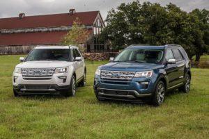 Ford ra mắt bộ đôi phiên bản đặc biệt Explorer mới