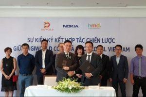Digiworld và HMD Global bắt tay đưa Nokia quay lại Việt Nam