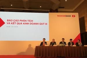 Sếp Techcombank nói gì về con số lợi nhuận đột biến 7.774 tỷ đồng?