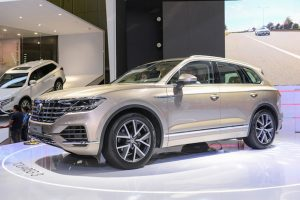 Cận cảnh xe tiền tỷ Volkswagen Touareg 2019 tại triển lãm ô tô VMS 2018