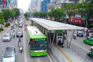 Sau 2 năm, tuyến BRT Hà Nội chỉ đạt 50% công suất