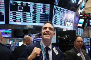Nhờ cổ phiếu công nghệ và internet, chứng khoán Mỹ tăng phiên thứ hai liên tiếp