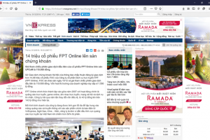 Công ty vận hành báo VnExpress được định giá 1.550 tỷ đồng