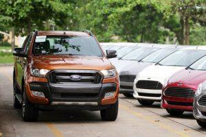 Triệu hồi bán tải Ford Ranger và Fiesta do lỗi chốt cửa