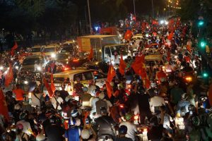 Chung kết lượt về AFF Suzuki Cup 2018: Hà Nội cấm ô tô tại 22 tuyến đường