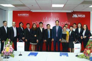 MSB hợp tác với SAVISTA thực hiện phương thức thanh toán thông minh
