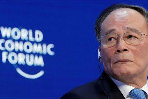 """Từ Davos: Ông Vương Kỳ Sơn """"thanh minh"""" về sụt giảm kinh tế của Trung Quốc"""