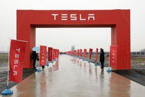 Bất chấp chiến tranh thương mại, Tesla vẫn động thổ nhà máy tại Trung Quốc