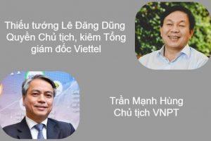 Năm Hợi 'ngó' công danh sếp tuổi Hợi của Viettel, VNPT