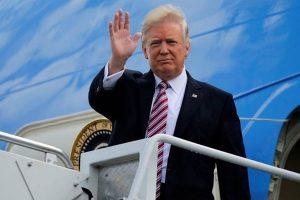 Máy bay chở Tổng thống Trump sẽ tới sân bay Nội Bài tối 26/2