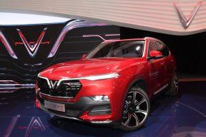 VinFast sản xuất thân vỏ xe SUV Lux SA 2.0 tiêu chuẩn quốc tế