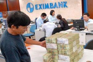 Eximbank 'đánh vật' với nợ xấu của 7 khách hàng cầm cố cổ phiếu STB