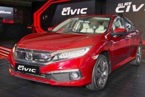 Honda Civic 2019 chính thức ra mắt, giá từ 586 triệu đồng