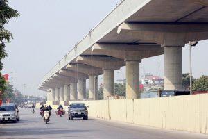 Tiến độ dự án metro Nhổn – ga Hà Nội: Hoàn thành xây dựng 98% đoạn trên cao