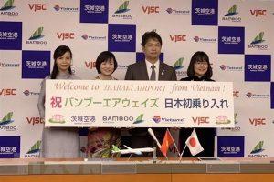 Bamboo Airways sẽ bay chuyến quốc tế đầu tiên tới Nhật vào ngày 29/4