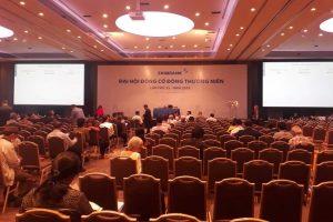 Lùm xùm tranh chấp quyền lực, Đại hội cổ đông Eximbank bất thành