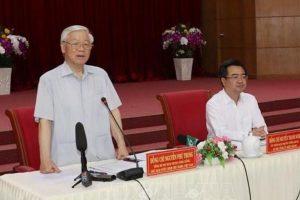 Tổng Bí thư Nguyễn Phú Trọng: 'Đưa Kiên Giang tiếp tục phát triển nhanh, mạnh hơn nữa'