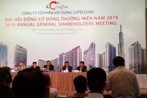 ĐHCĐ Coteccons: Bỏ phương án sáp nhập Ricons do cổ đông lớn phản đối