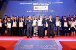 SeABank lọt top 500 doanh nghiệp tăng trưởng nhanh nhất Việt Nam