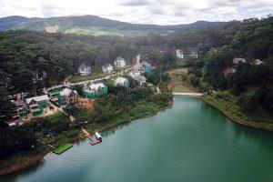 Cần xử lý dứt điểm vi phạm về xây dựng trong Khu Du lịch Hồ Tuyền Lâm
