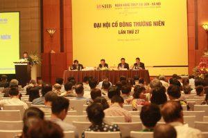 """Chủ tịch SHB Đỗ Quang Hiển: """"Dự phòng nợ xấu Habubank dưới 5 năm mới được chia cổ tức"""""""