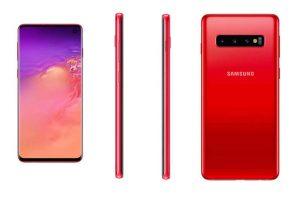 Samsung Galaxy S10 sẽ có thêm phiên bản màu đỏ