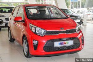 Kia Morning 2019 bổ sung phiên bản mới tại Malaysia, giá từ 280 triệu đồng