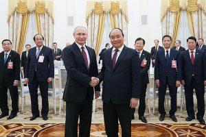Ông Putin: Nga sẵn sàng hỗ trợ Việt Nam xây dựng Chính phủ điện tử