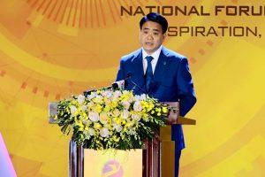 """Chủ tịch Nguyễn Đức Chung: """"Hà Nội hướng tới mục tiêu đưa dịch vụ số đến bất kỳ đâu"""""""