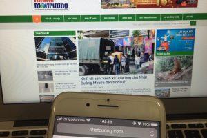 """Các kênh thông tin Nhật Cường Mobile bỗng dưng… """"mất hút"""""""
