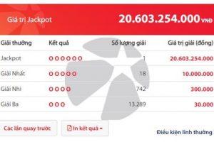Kết quả Vietlott hôm nay: Vừa trao thưởng gần 120 tỷ, Vietlott lại có thêm người trúng 20 tỷ