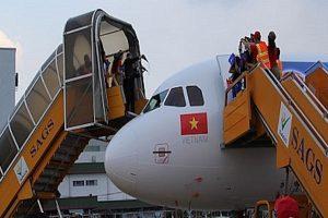 Phục vụ Mặt đất Sài Gòn (SGN) chốt quyền trả cổ tức tổng tỷ lệ 70%
