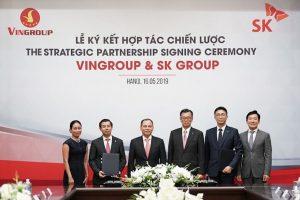 SK Group 'chốt' đầu tư 1 tỷ USD mua cổ phiếu của Vingroup