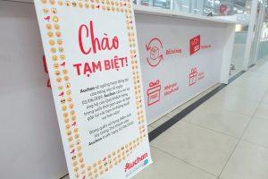 Auchan đóng cửa 15 siêu thị rút dần khỏi Việt Nam