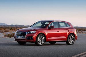 Audi Q5 bị triệu hồi vì lỗi phanh