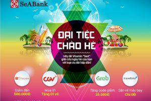 Ưu đãi hấp dẫn tại CGV, Traveloka, Grab, Shopee với thẻ quốc tế SeABank