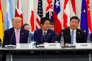 TT Trump nói chuyện thương mại, ông Tập Cận Bình cảnh báo chống chủ nghĩa bảo hộ tại G-20