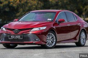 Toyota Camry 2019 bất ngờ tăng giá bán tại Malaysia