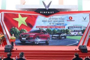 Vingroup khánh thành nhà máy ôtô VinFast với 10.000 đơn đặt hàng