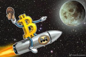 Giá bitcoin hôm nay 18/6: Tăng cao chóng mặt, vượt mốc 9.300 USD