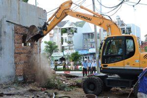 Thị xã Phú Mỹ tỉnh Bà Rịa – Vũng Tàu sẽ cưỡng chế dự án tự ý phân lô, bán nền