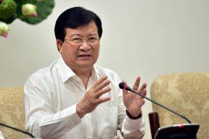 Phó thủ tướng Trịnh Đình Dũng: 'Khuyến khích các nhà đầu tư trong nước liên danh làm cao tốc Bắc – Nam'