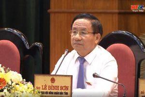 Bí thư tỉnh ủy Hà Tĩnh Lê Đình Sơn: Không đánh đổi môi trường để làm điện mặt trời