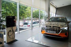'Chạm mặt' SUV điện Audi e-tron 2019 tại Hà Nội