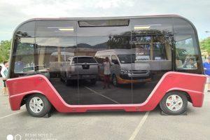 Xe buýt điện VinFast lộ diện, sắp ra mắt thị trường