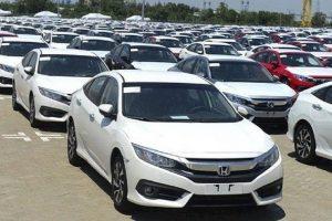 Lượng ôtô nguyên chiếc nhập khẩu tăng mạnh trước tháng ngâu
