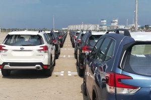 Thị trường nhập khẩu ô tô giảm mạnh trong 'tháng cô hồn'