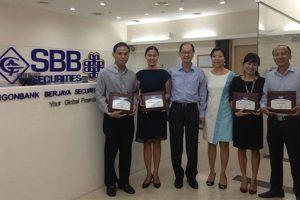 CTCP Chứng khoán Saigonbank Berjaya bị đình chỉ nghiệp vụ tự doanh chứng khoán