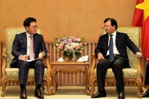 Phó thủ tướng muốn Lotte đầu tư vào hạ tầng giao thông Việt Nam